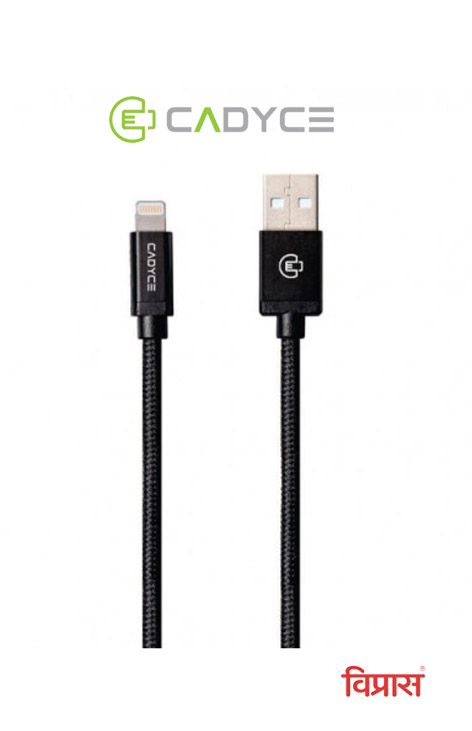 Cable Cadyce USB Sync Cable Lightning CA-ULCG 1.2 Mtr (Gold)
