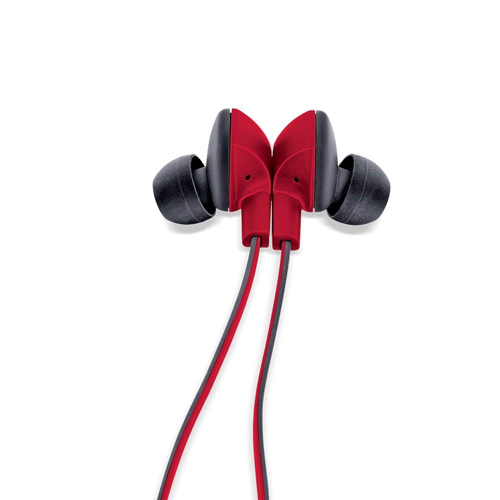 Headset Sports  iBall Musi Sporty Wireless  (Black and Red)