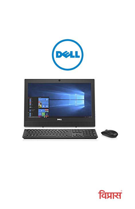 Desktop Dell AIO 3050 I3-7th/4GB/1TB/19.5/Ubantu