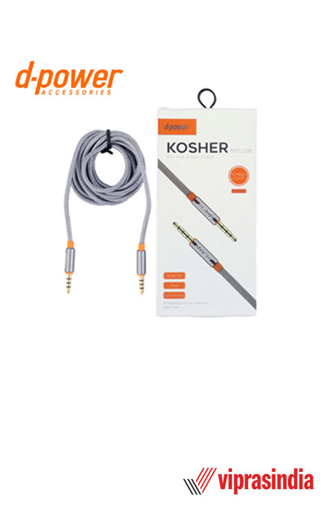 AUX Audio Cable D-Power KOSHER DP-604