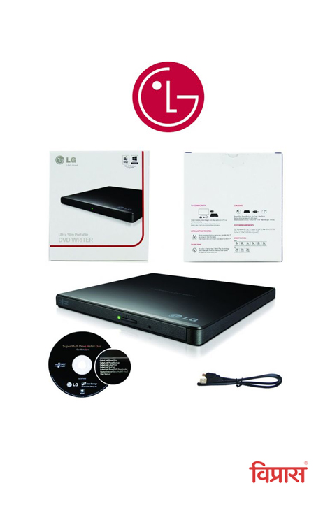 DVD Writer LG GP65NB60 USB (External)