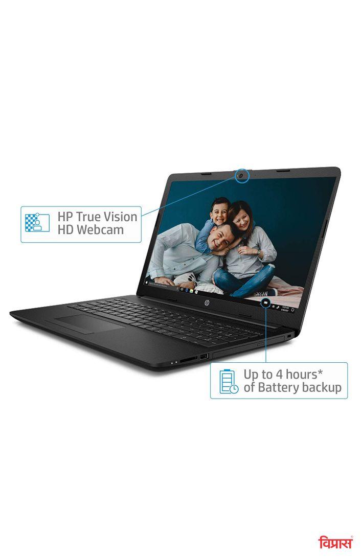 Laptop HP 15 DA 0352 TU Black