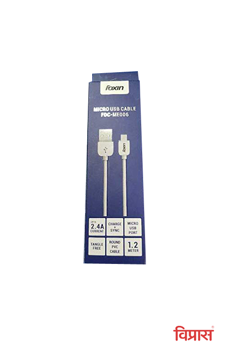 Micro USB Cable FDC-ME006 Foxin