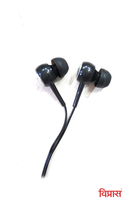 Ear Phone FOXIN Bass Plus A1  (Black)