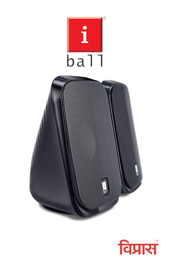 Speakers  iBall Decor 9-2.0 Computer Multimedia (Black)