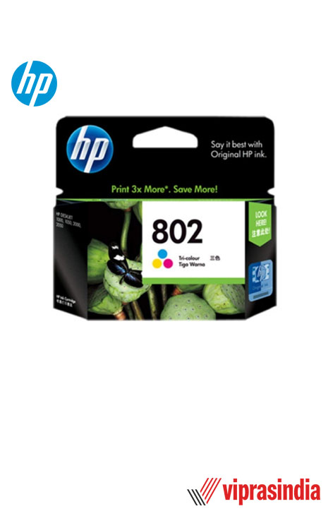 Cartridge HP 802 Color Ink