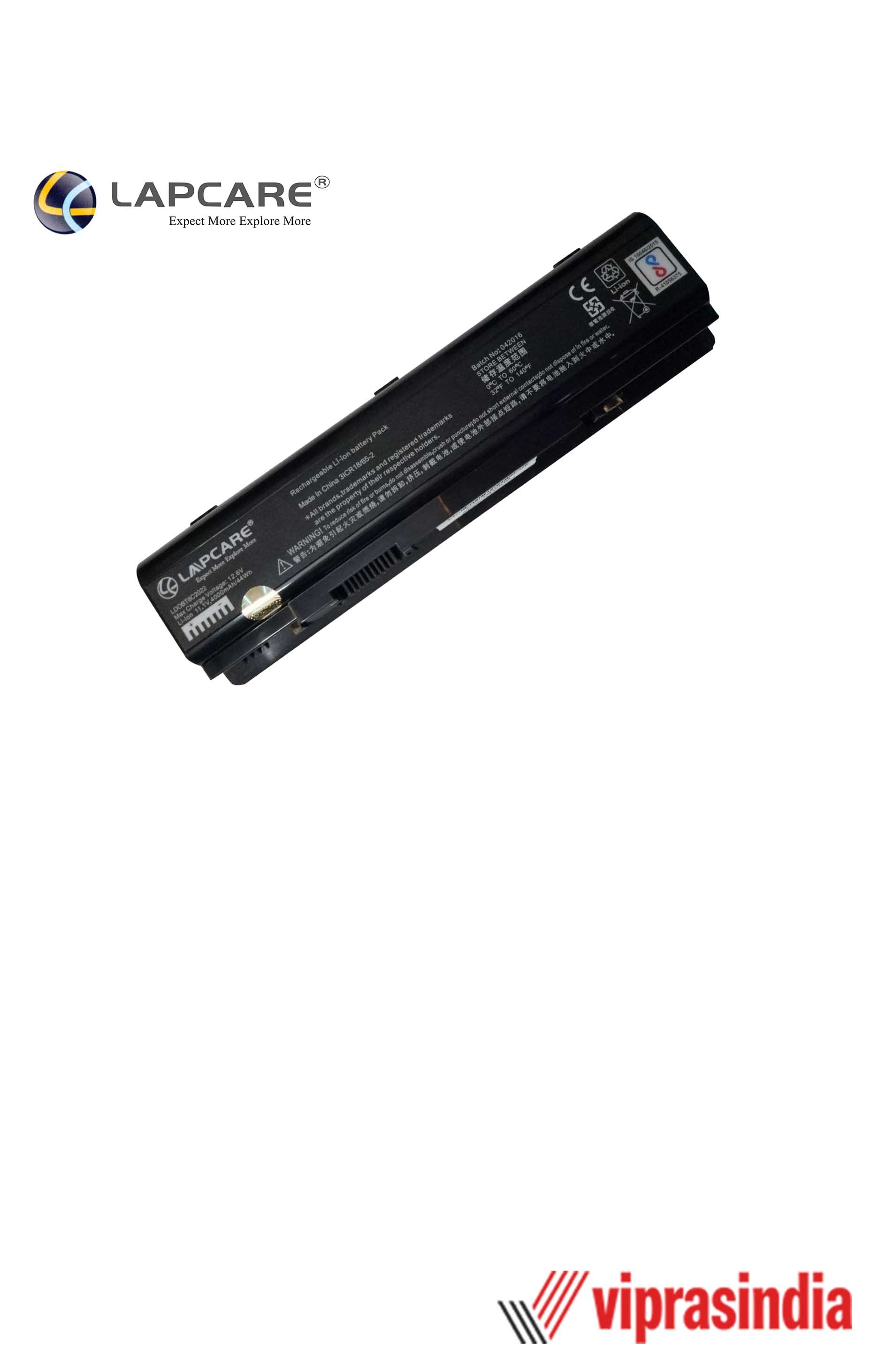 Laptop Battery Lapcare Compatible For DELL A840