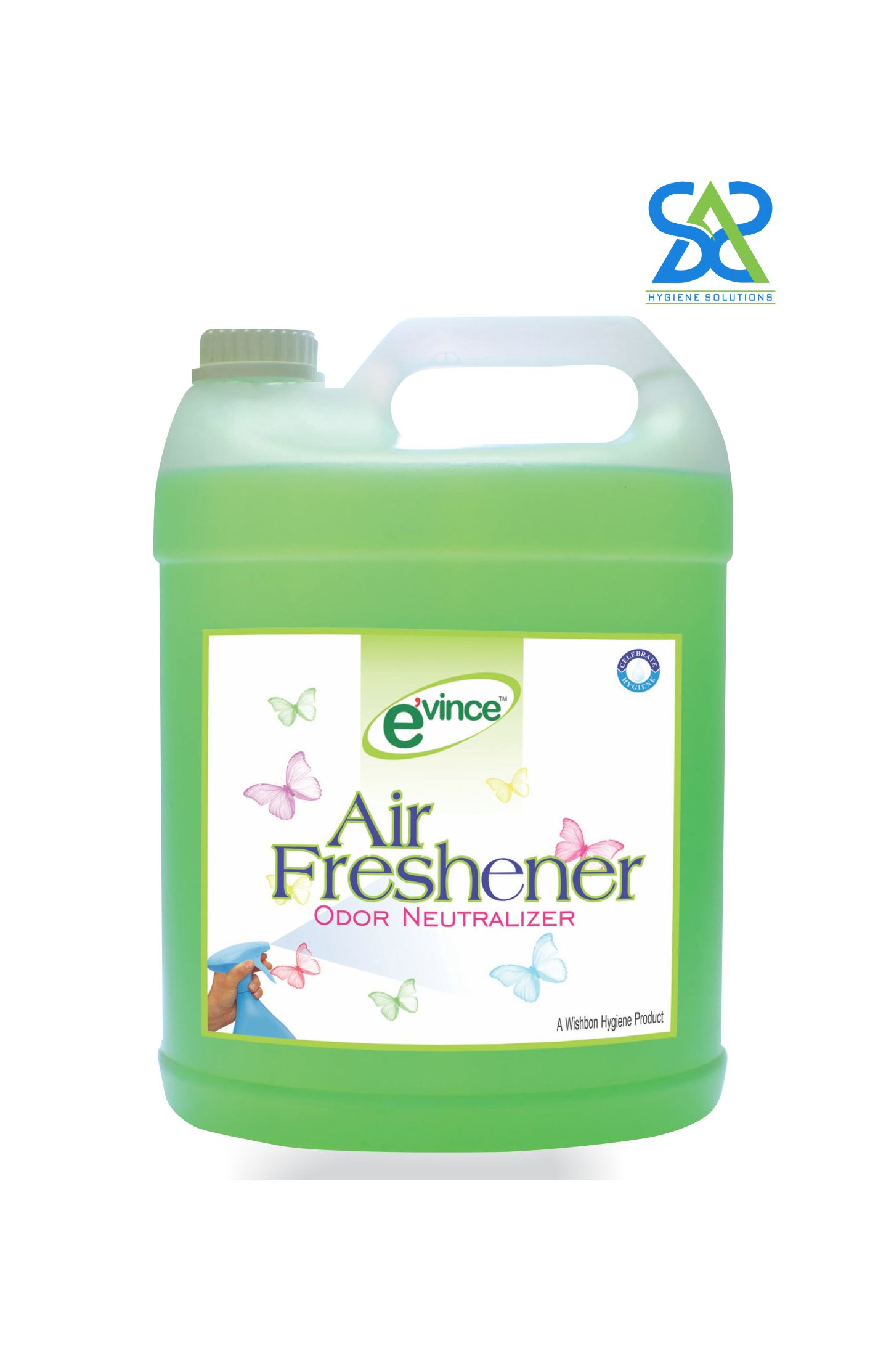 Evince Air Freshener - Grape Green, 5 Litres