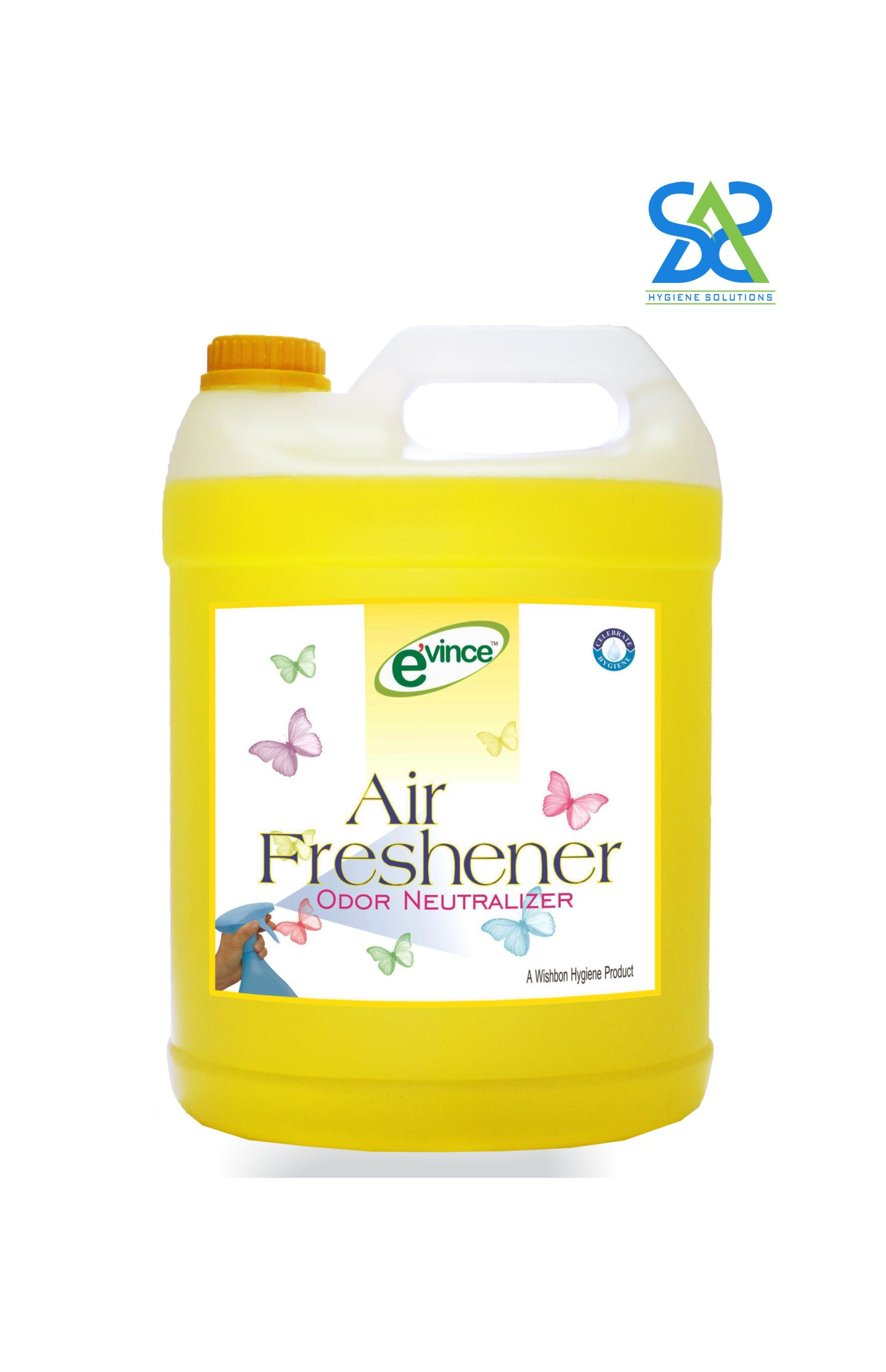 Evince Air Freshener - Lemon Fresh, 5 Litres