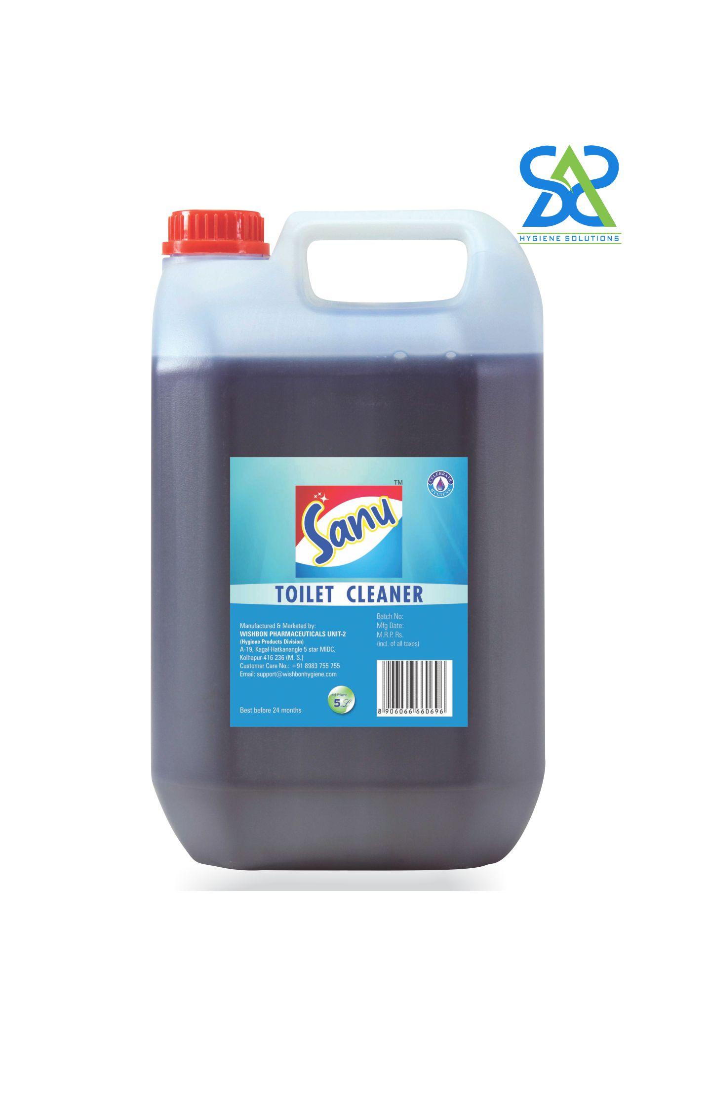 Sanu Toilet Cleaner - 5 Litres