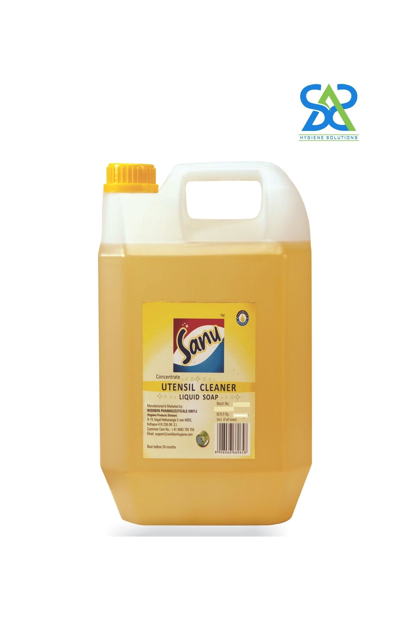 Sanu Utensil Cleaner Concentrate - 5 Litres