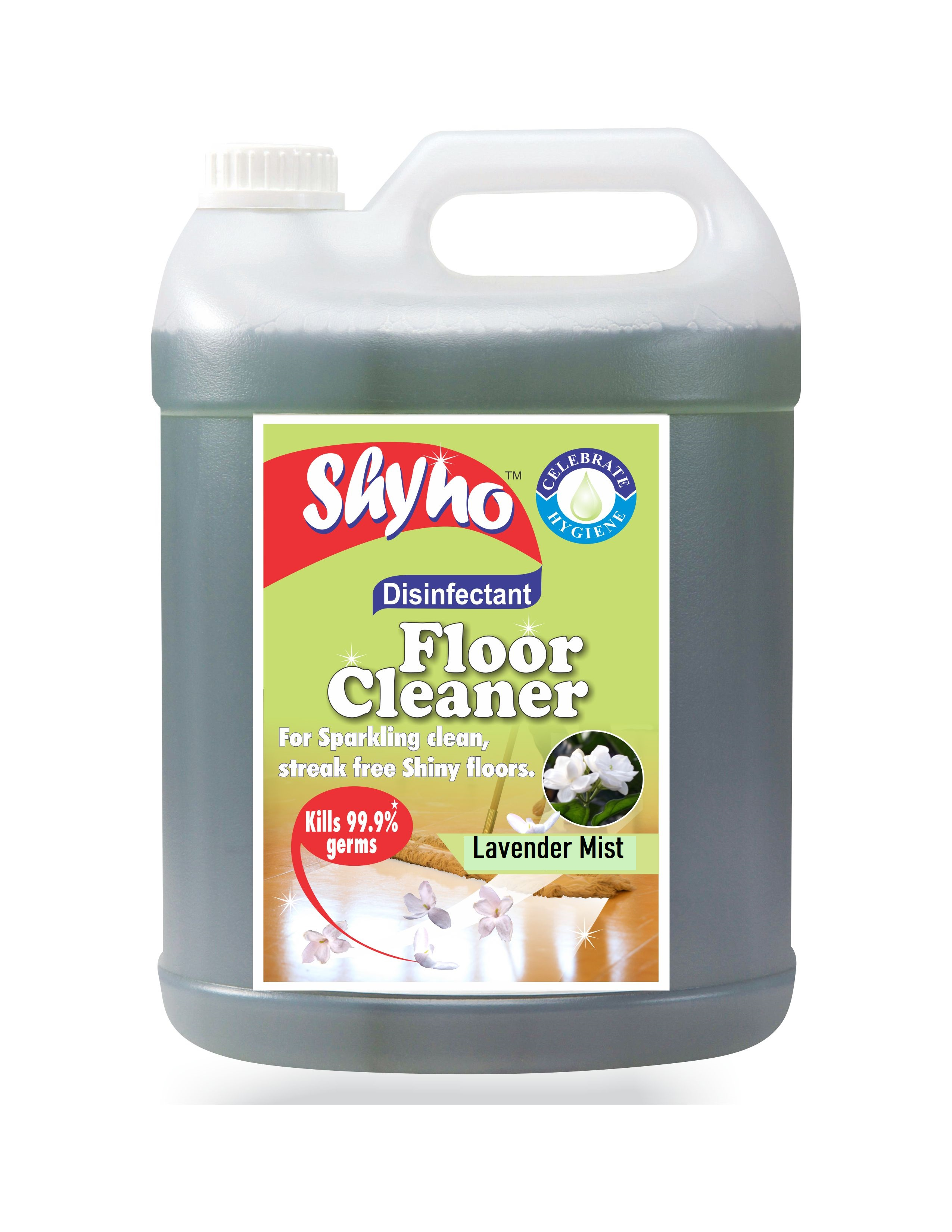 Shyno Disinfectant Floor Cleaner - 5 Litres, Lavender Mist