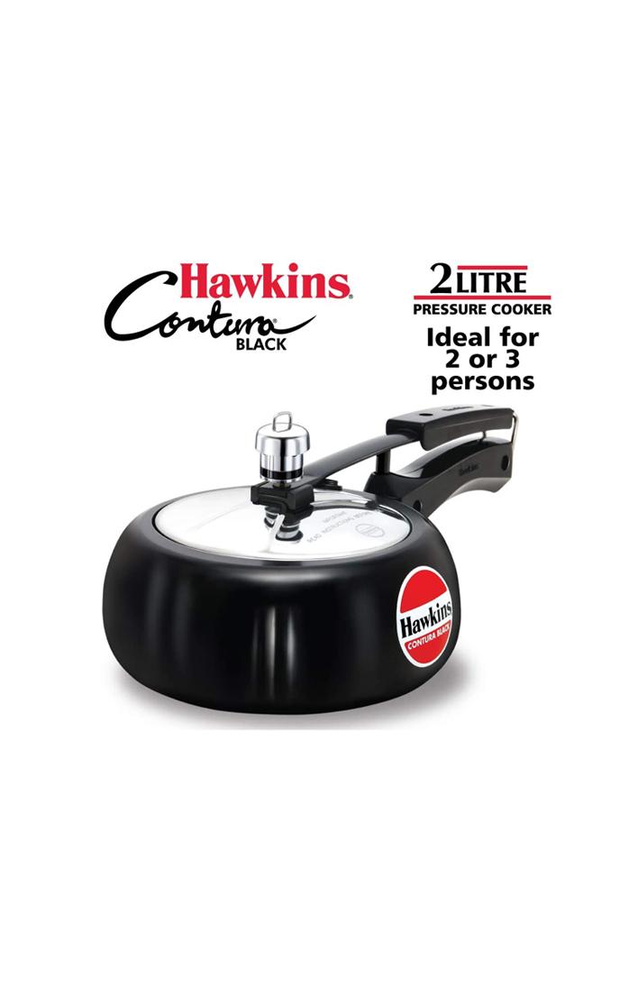 Hawkins Contura Black 2 litre