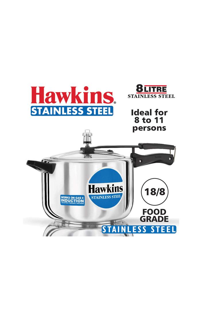 Hawkins Stainless Steel 8 Ltr.