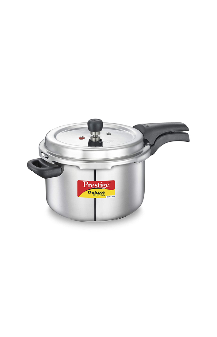 PRESTIGE Stainless Steel Deluxe Pressure Cookers 6.5 Litre
