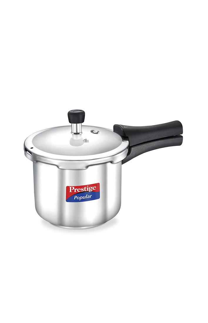 PRESTIGE Popular Stainless Steel Pressure Cooker 2 Litre