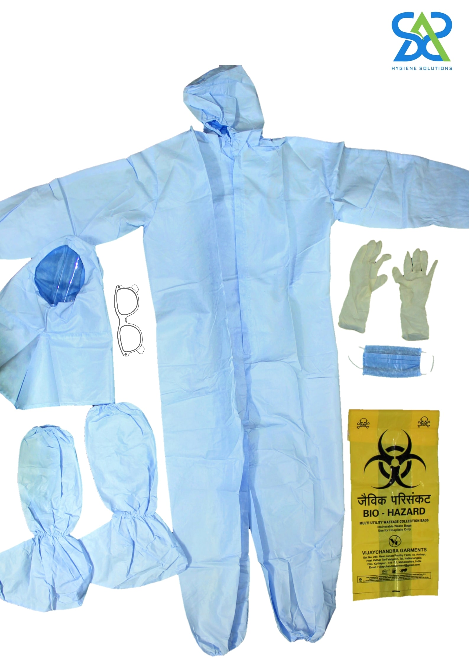 SAS (Professional Protective Equipment) PPE Kit
