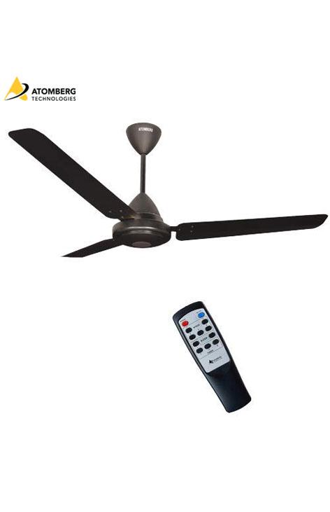 Atomberg Efficio 1200 mm BLDC Ceiling Fan with Remote - Matte Black