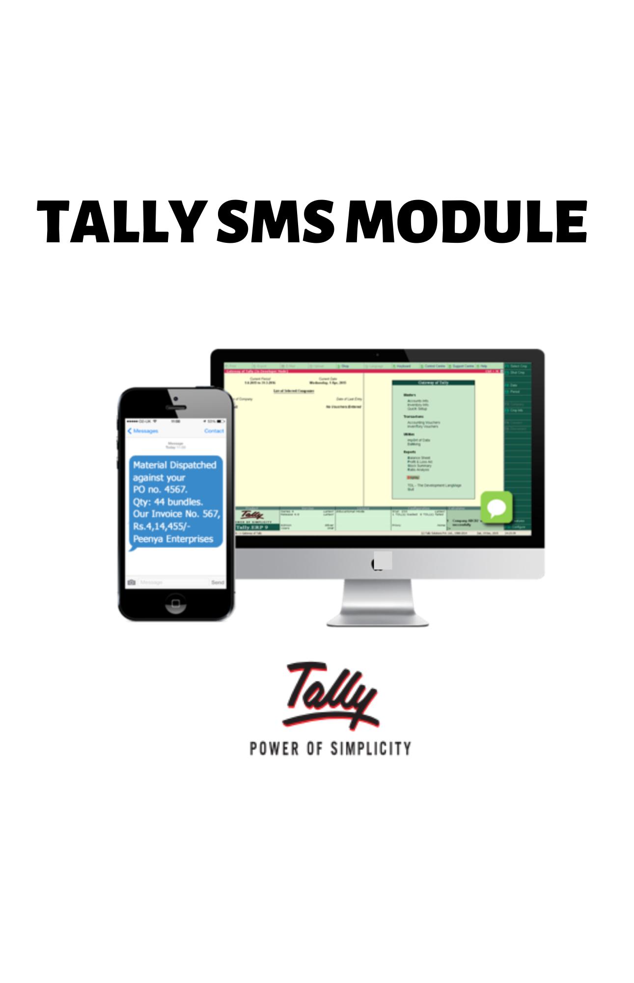 Tally SMS Module