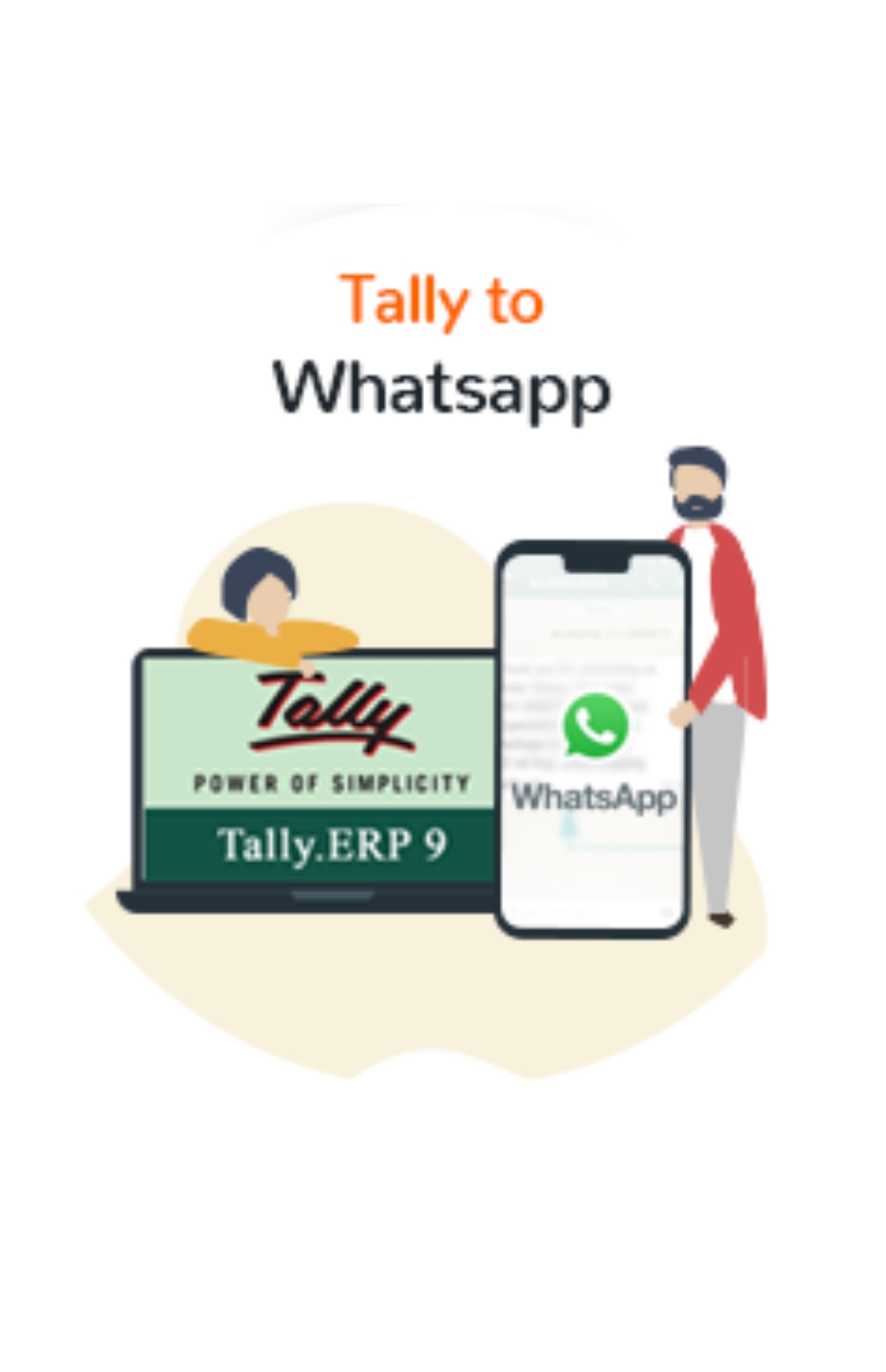 Tally to Whatsapp