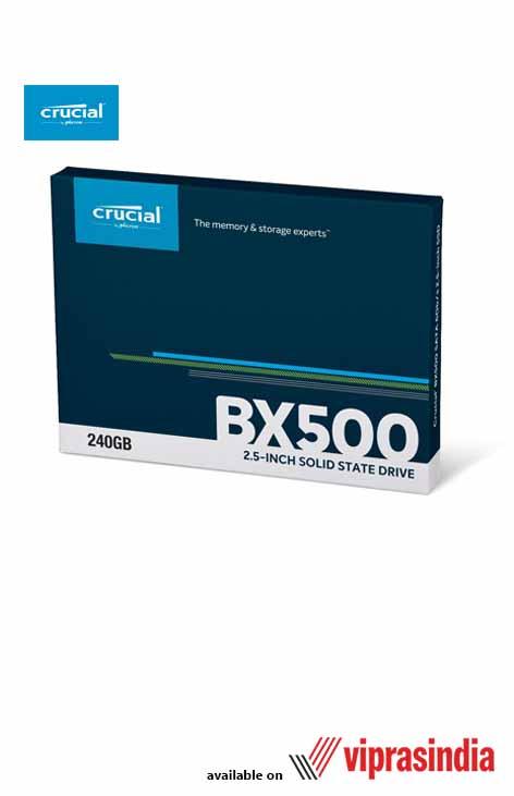 SSD Crucial 240 GB 2.5 inch SATA BX500