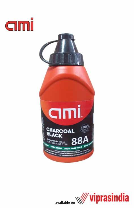Toner Ink Powder AMI 88A Charcoal Black