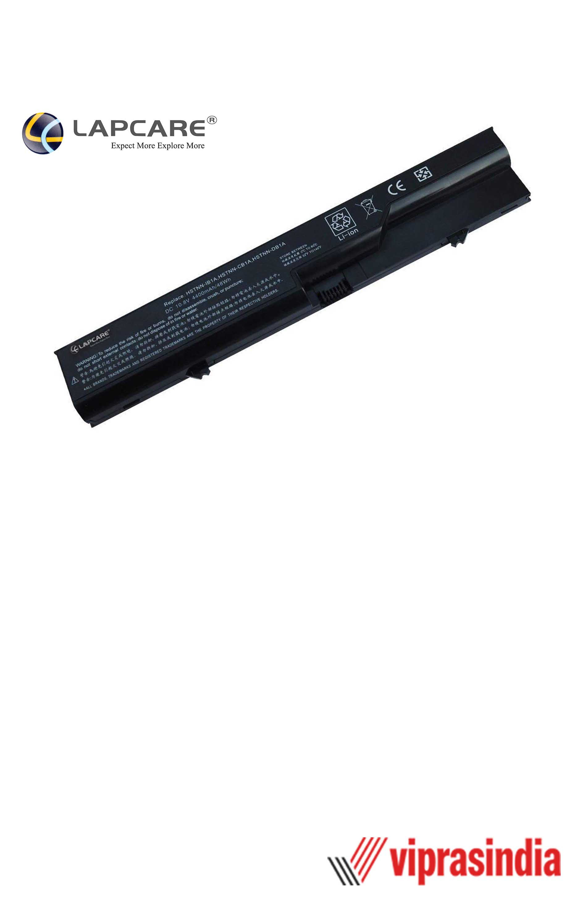 Laptop Battery Lapcare Compatible For Probook 4320s 6C