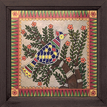 Madhubani Bird 4 Painting