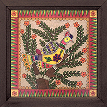 Madhubani Bird 1 Painting
