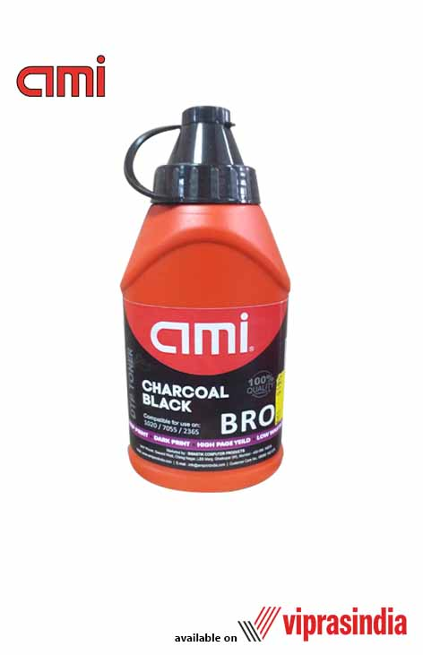 Toner Ink Powder AMI Charcoal Black For Brother