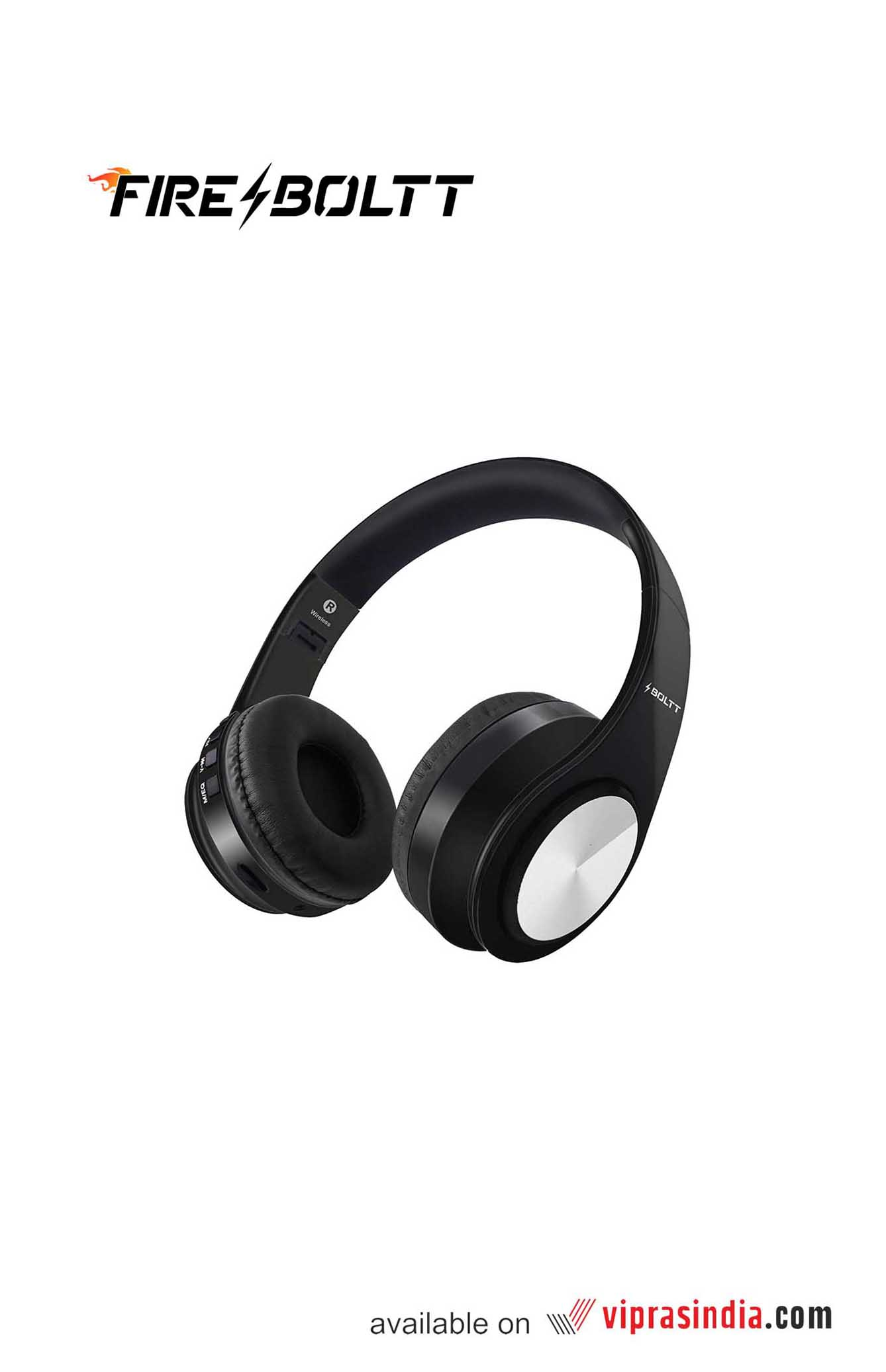 Fire-Boltt  BH1000 Wireless on Ear  Bluetooth Headphone