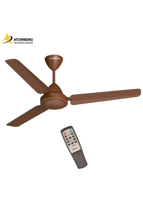 Atomberg Efficio 1200 mm BLDC Ceiling Fan with Remote - Matte Brown