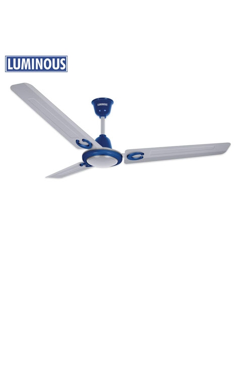 Ceiling Fan Luminous Rapid Prime 1200mm (Aqua Silver)