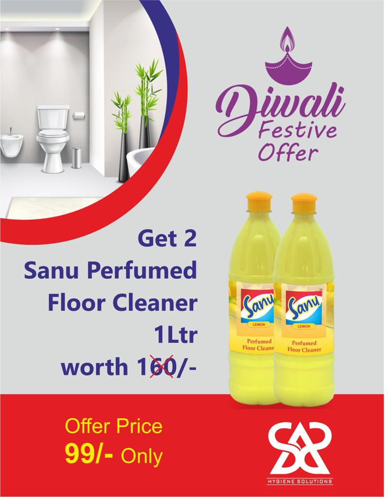 Sanu Floor Cleaner 1 ltr x 2