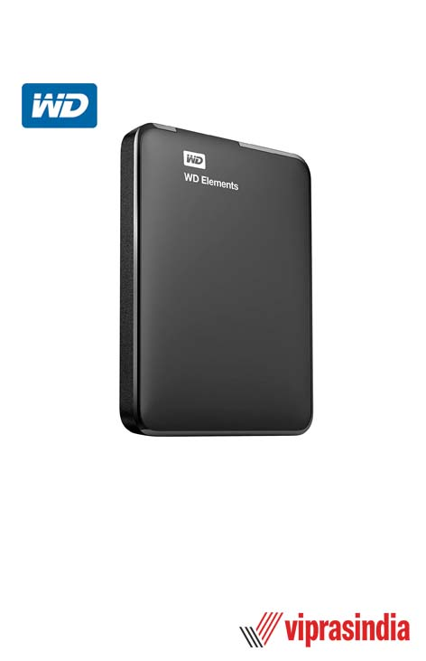 Hard Disk WD Elements 2 TB External (Black)
