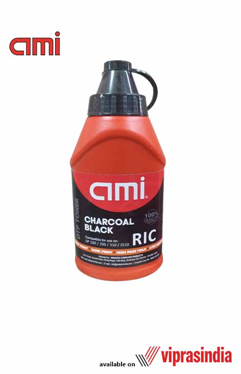 Toner Ink Powder AMI Ricoh Charcoal Black