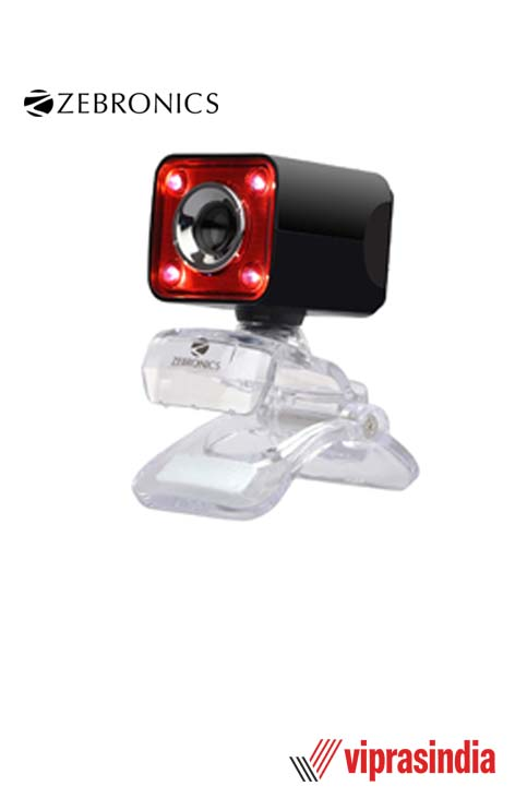 Webcam Zebronics Crystal Pro