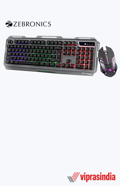 Keyboard & Mouse Zebronics Gaming ZEB-TRANSFORMER Combo