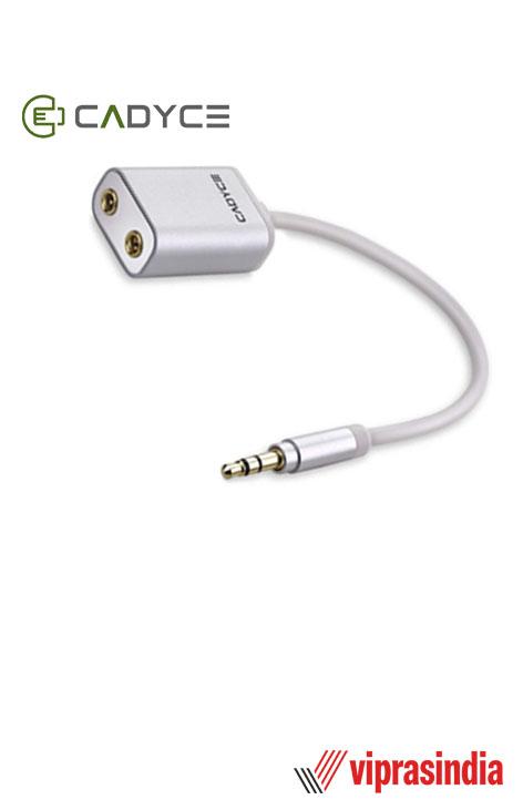 Splitter Cadyce 3.5mm Premium Stereo Audio CA-AUSP