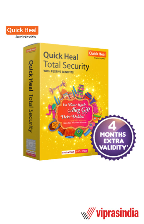 Quick Heal Total Security Festive Pack