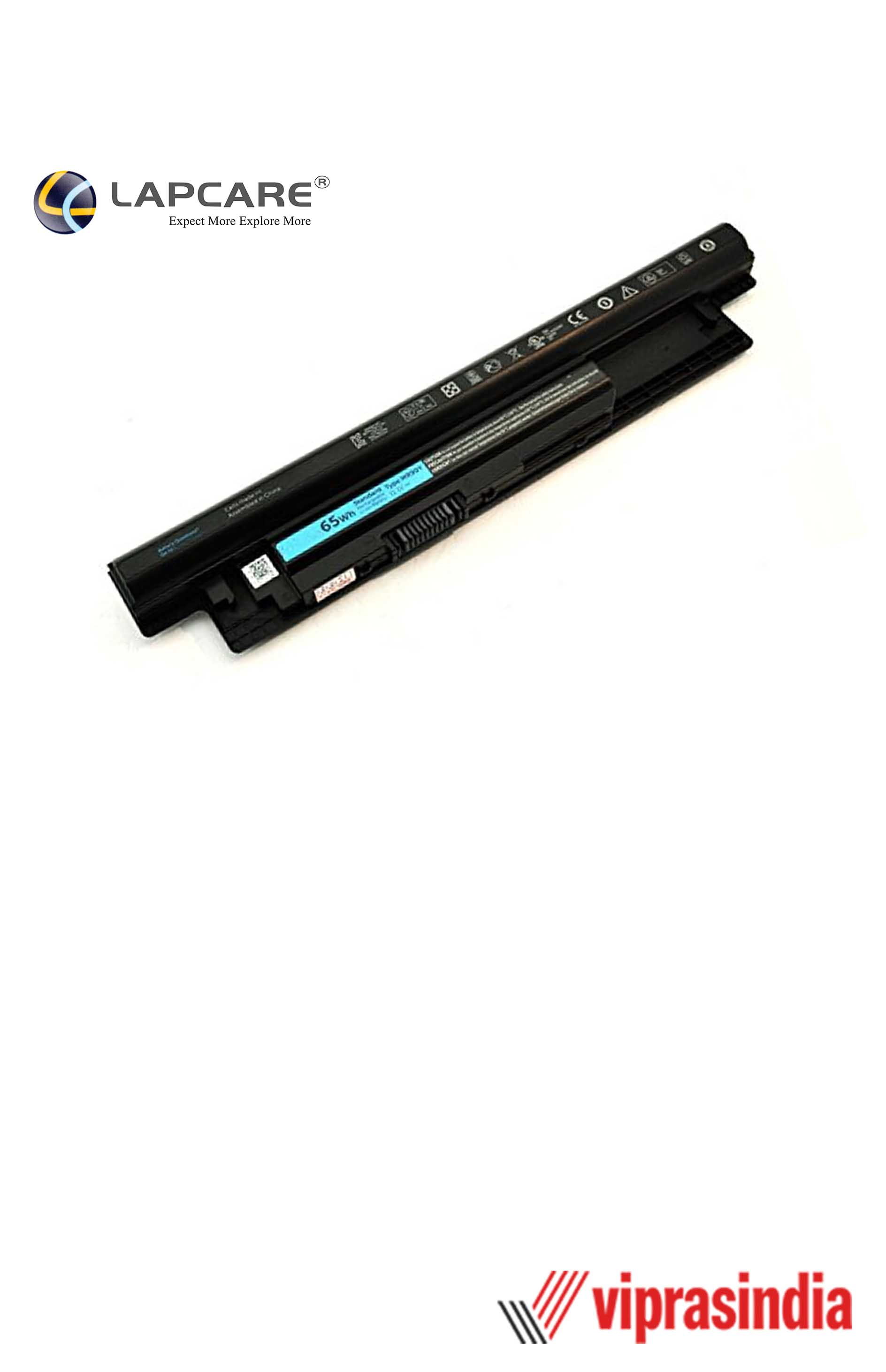 Laptop Battery Lapcare Compatible For Dell 3521 4C