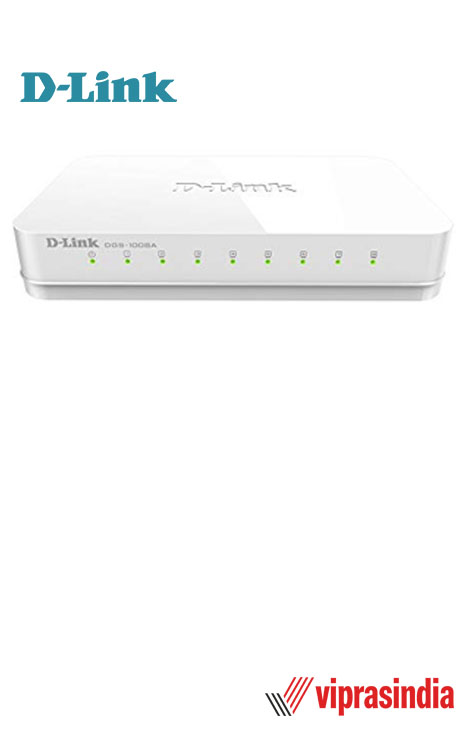 Desktop Switch D-Link DES-1008A 8-Port 10/100Mbps