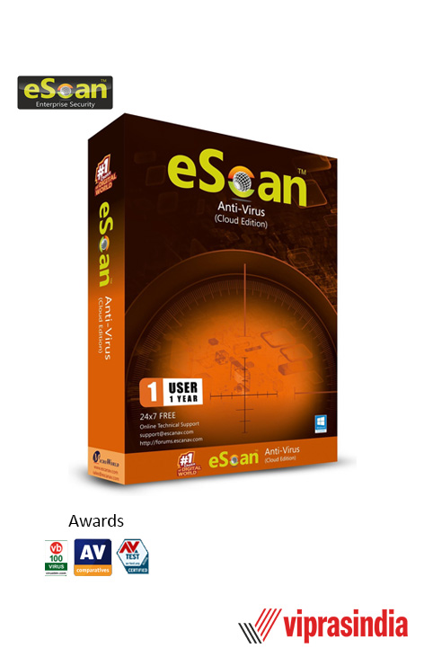 Antivirus eScan 1 PC 1 Year