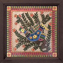Madhubani Bird 2 Painting
