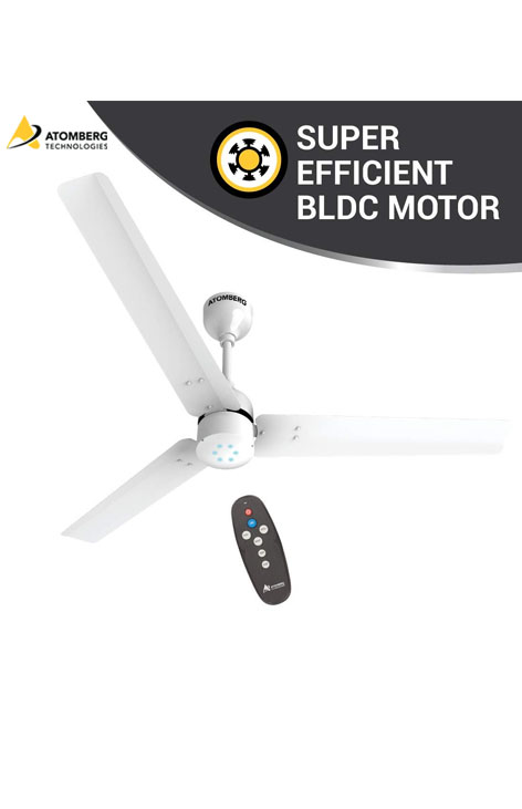 Atomberg Renesa 1200mm BLDC Ceiling Fan with Remote - White