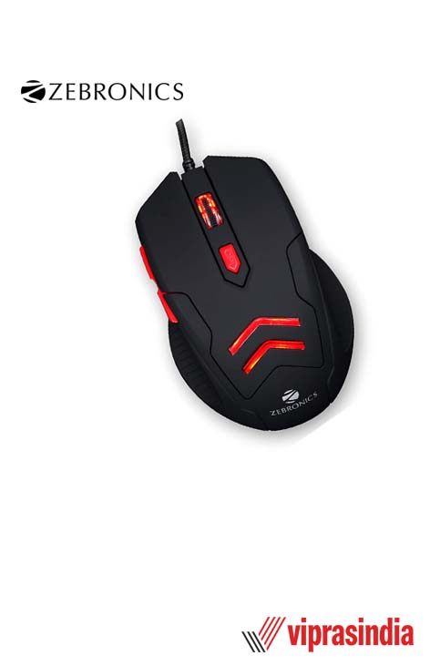 Mouse Zebronics USB Gaming ZEB-FEATHER