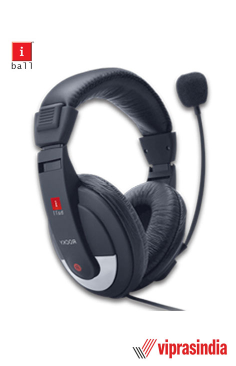 EarWear iBall Rock with Mic Over-Ear Wired Headphones, Pitch Perfect Sound