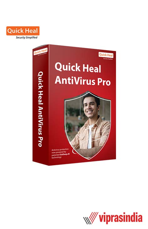 Antivirus Quick Heal Pro 3 User 1 Year