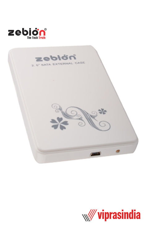 Laptop  Hard Disk Case with USB Cable Zebion