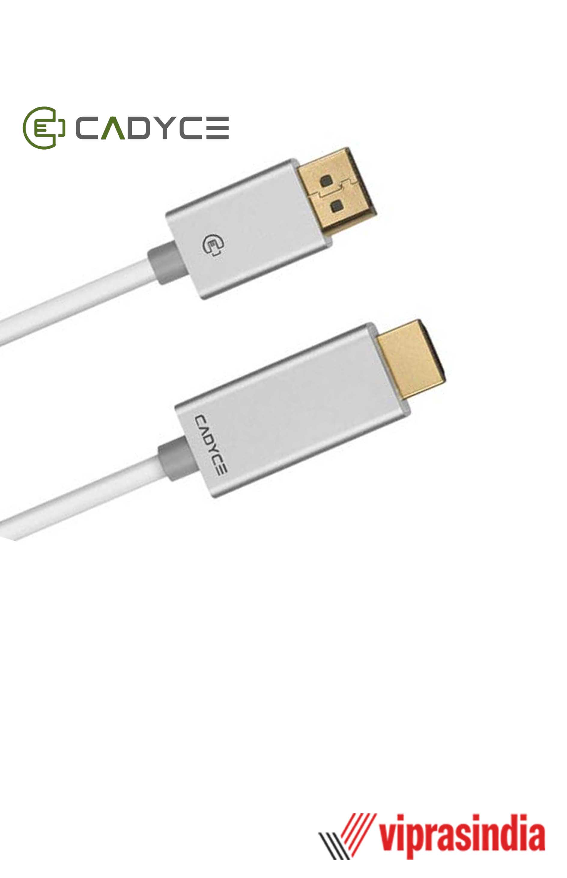 Cadyce DisplayPort™ to HDMI Cable with Audio 1.8M CA-DPHDC